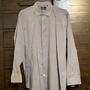 Marc Anthony dress shirt slim fit 17.5 34/35